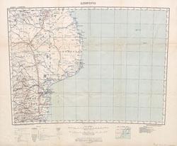 Mozambique (Limpopo Zanzibar) Scale, 1 : 2,000,000